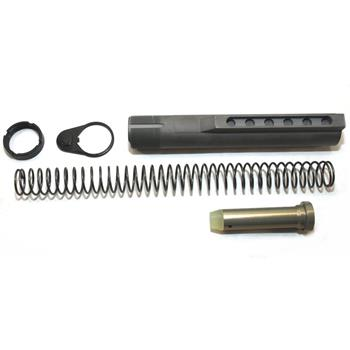 DSA AR15 NTF Plated Buffer Tube Kit. Mil-Spec