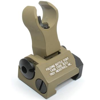 Troy Industries Folding FRONT HK Style Back Up Sight - FDE