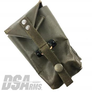 Steyr Original Surplus Double Magazine Pouch - Rubber Coated - Fair Condition