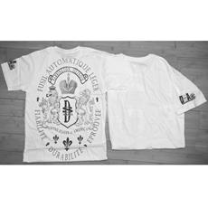 "DSA Short Sleeve T Shirt White ""Brothers & Arms"". Size: medium"