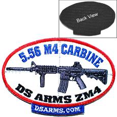 DSA ZM4 5.56 M4 embroided patch