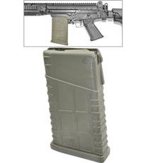 Moses Machine Works FAL Magazine - 20 Round - OD Green - Fits Metric & Inch Pattern