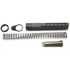 DSA AR15 NPE - Nickel Phosphate Coated Buffer Tube Kit - 6 Position Mil-Spec - Carbine Buffer