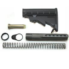 DSA AR15  Black M4 Stock Assembly with NTF Buffer Tube. Mil-Spec