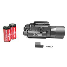 Surefire X300 U-A Weapon Light - LED - 600 Lumens