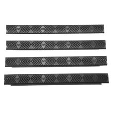 ERGO M-LOK 4 Slot Rail Cover - 4 Pack - Black