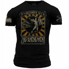 DS Arms & Grunt Style 2nd Amendment Custom T-Shirt - Extra Large