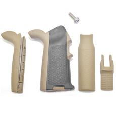 Magpul AR15 MIAD Pistol Grip - Custom Black w/ FDE Two Tone