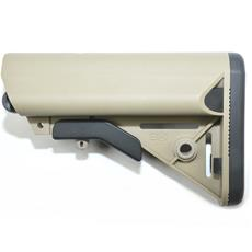 B5 Systems AR15 SOPMOD Stock - Custom FDE w/ Black Two Tone