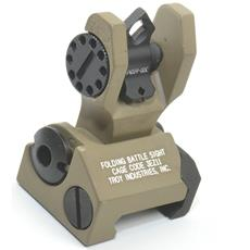 Troy Industries Dioptic Folding REAR Back Up Sight - FDE