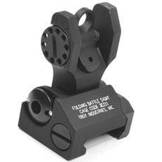 Troy Industries Folding REAR Back Up Battle Sight - Black