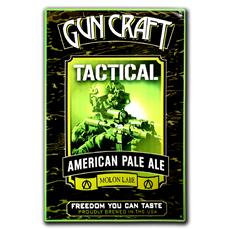 Gun Craft Beer By 2nd Amendment Brewery Custom Tactical APA Metal Sign