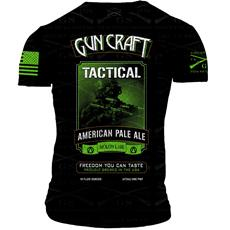 2nd Amendment Brewery - Gun Craft TACTICAL APA T-Shirt - Triple Extra Large