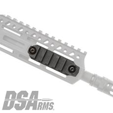 Bravo Company Gunfighter Picatinny Rail Section - M-LOK Mounting - Black