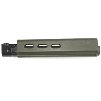 DSA FAL SA58 Traditional Length Belgian Style Handguard - Dura Coat OD Green