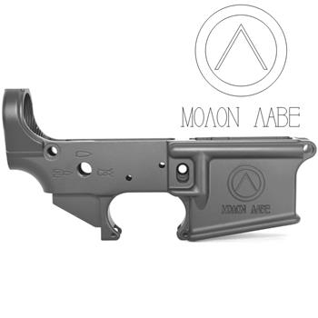 DSA AR15 ZM4 Stripped Lower Receiver - Engraved Spartan Shield