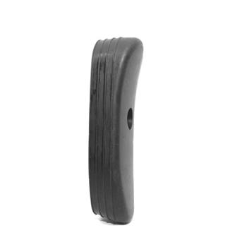 DSA FAL SA58 Rubber Buttpad For Metric Buttstocks - Synthetic Stocks Only - Black
