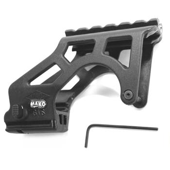 Glock tactical scope mount for all glock pistols with front accessory rail