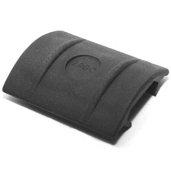 Clip-on synthetic grip panel 1 1/2''W X 1 3/4''L