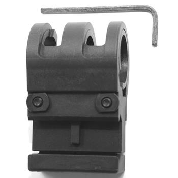 Viking tactics light mount, fits weaver or picatinny rail