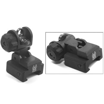 GG&G A2 style BUIS Flip-up Rear Sight