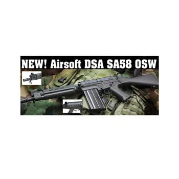 FAL SA58 OSW battery powered *Airsoft* rifle.