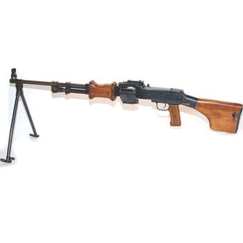 DSA RPD semi auto rifle.  Wooden buttstock & handguard with Bi-Pod.  7.62 X 39mm Cal.