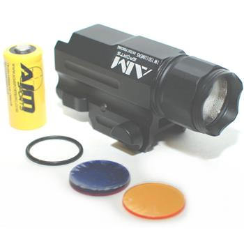 Aim Sports Rail Mounted Flash Light - Quick Release - 220 Lumens