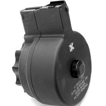X Products 50 Round Metric FAL Drum Magazine