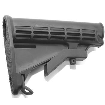 DSA AR15 M4 Buttstock. Mil-Spec. Black