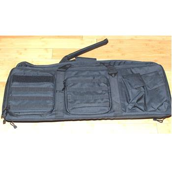 "Aim Sports Tactical Padded Double Rifle Soft Case - 36"" Length - Black"