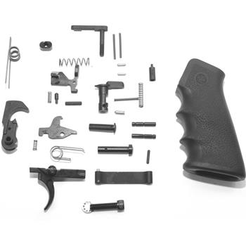 DSA AR15 Complete Lower Receiver Parts Kit With Hogue Pistol Grip