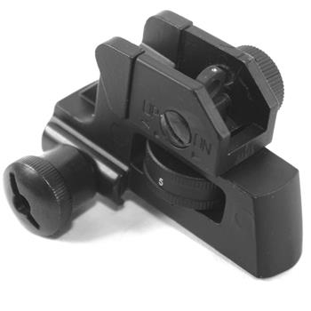 AR15 A2 style fixed rear sight