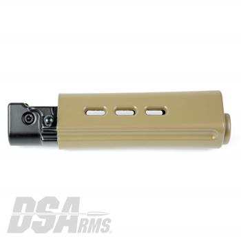 DSA FAL SA58 Short Length Belgian Style Handguard - Dura Coat Flat Dark Earth