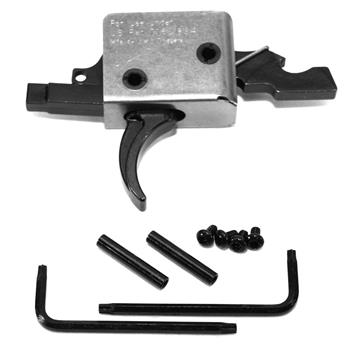 CMC AR15 Drop-in Match Curved Trigger Group, 4.5 lb. Pull.