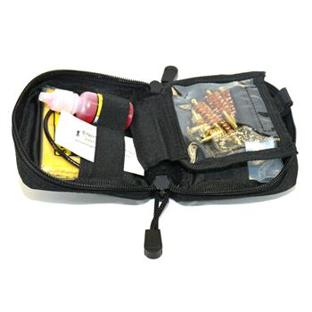 Pro-Shot .22 - .45 Cal. Universal Tactical Pull Through Pistol Cleaning Kit - Black Pouch