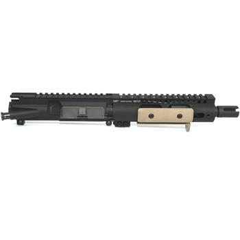 "DSA AR15 7"" Chrome Lined Barrel w/ Midwest Ind. Black 7"" Handguard 556 Cal.Panels Incl."
