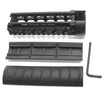 FAB MP5 rail handguard, replaces original handguard, accepts picatinny rail accessories