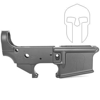 DSA AR15 ZM4 Stripped Lower Receiver - Engraved with Spartan Helmet