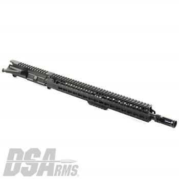 "DSA AR15 16"" Chrome Lined Barrel w/ BCM 15"" KMR-A KeyMod Handguard Upper Receiver Assembly"