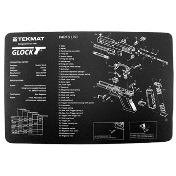 TekMat Gunsmithing / Cleaning Mat - Glock 17