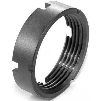DSA AR15 Titanium Buffer Tube Lock Ring - Black Finish