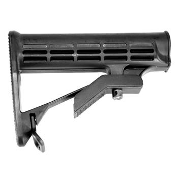 DSA AR15 Lightweight Enhanced Stock - Ti Stock Metal