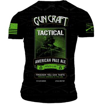 2nd Amendment Brewery - Gun Craft TACTICAL APA T-Shirt - Large