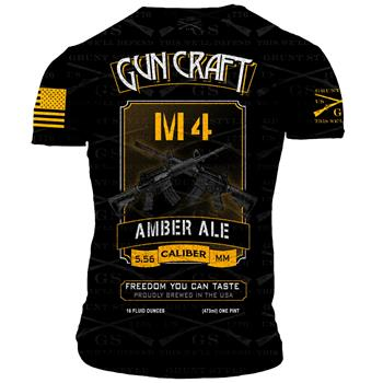 2nd Amendment Brewery - Gun Craft M4 Amber Ale T-Shirt - Extra Large