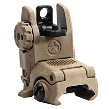 Magpul MBUS Back Up Folding Sight - REAR - FDE