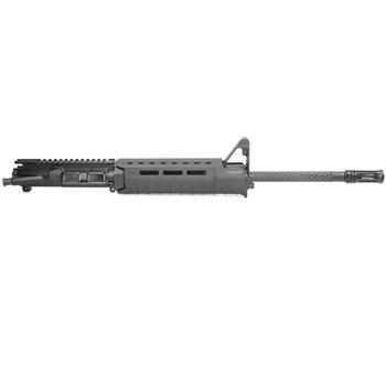 "DSA AR15 16"" WerkerZ Custom Knurl Fluted Chrome Lined Upper Assembly - Forged Front Sight Tower"