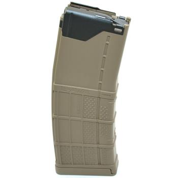 Lancer Systems AR15 L5 Advanced Warfighter 5.56/.223 30 Round Magazine - FDE