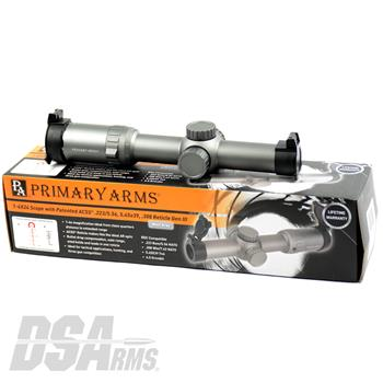 Primary Arms 1-6X24mm SFP Riflescope - Wolf Grey - Gen III - ACSS 5.56 / 5.45 / .308 Reticle