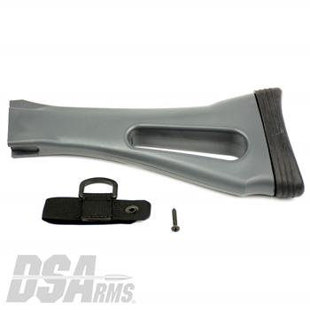 DSA FAL SA58 X-Series Metric Buttstock - Dura Coated Grey Wolf